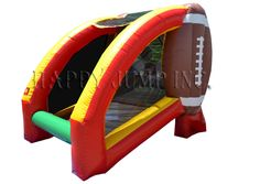 Quarterback Challenge- Inflatable Football Challenge, have your football star step up to test his arm! Contact our office for more details at 618-876-6030.