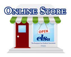 Il nostro primo Negozio Online Ufficiale :)  http://shop.elsa-italy.org
