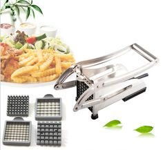Stainless Steel Potato Chipper French Fry Cutter Vegetable Slicer clean eating -- AliExpress Affiliate's buyable pin. Click the image to view the details on www.aliexpress.com