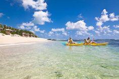 Honeymoon water fun! Centara Poste Lafayette Resort & Spa Mauritius #HoneymoonHeaven Mauritius Resorts, Mauritius Island, Honeymoon Planning, Best Honeymoon, Romantic Destinations, Honeymoon Destinations, Resort Spa, Kayaking, Africa