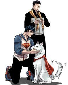 Clark + Bruce