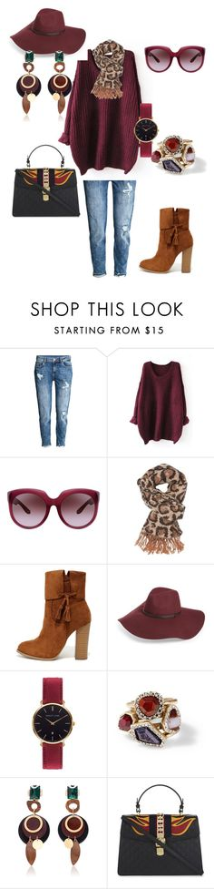 """""""Lively in  Leopard!"""" by pennie-gould on Polyvore featuring Bottega Veneta, Charlotte Russe, X2B, Halogen, Abbott Lyon, Chloe + Isabel, Marni and Gucci"""