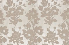 An elegant, floral wallpaper with a velvet finish from Kelly Hoppen London. Rolls are wide, or order a sample of the Rose Taupe Wallpaper for just today. Rose Gold Wallpaper, Home Wallpaper, Gold Background, Background Pictures, Kelly Hoppen Wallpaper, Bedroom Wall, Bedroom Furniture, Master Bedroom, Color Pallets