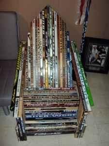 Chair Made From Old Hockey Sticks    Perfect For A Hockey Fan    Bachmanu0027s  2011 Holiday Idea House Via Hirshfieldu0027s Colour Club | Pinterest | Color  Club