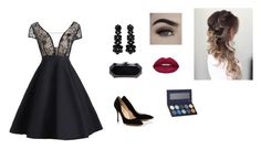 """""""Untitled #79"""" by anafasie on Polyvore featuring Chanel, Simone Rocha, Huda Beauty and Luxie"""