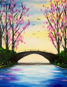 Avon River Paint And Sip, Painting Tips, Avon, Art Ideas, Tapestry, Paintings, River, Night, Model