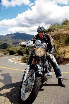 Jeez- where did 2006 go? Cool Motorcycles, Vintage Motorcycles, Honda 750, Scrambler Custom, Vintage Cafe Racer, Cafe Racer Style, Cafe Racer Motorcycle, My Ride, Bobber