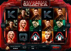 Battlestar Galactica offers plenty of winning opportunities. This 5 reeled slot with 243 pay lines, powered by Microgaming, has 3 different game modes, which has their own bonus features and achievements, which unlock additional content.  And like all Microgaming slots, this game has outstanding visual design and sound.
