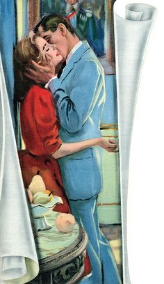 Illustration by Lynn Buckham for the story Saturday Afternoon