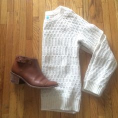 Anthropologie Sweater Great knit for the winter! Anthropologie Sweaters Crew & Scoop Necks