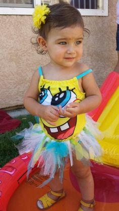 Sponge bob waterparks bday party in princess diva style