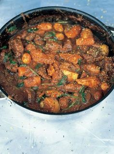 Jools Beef Stew | Beef Recipes | Jamie Oliver Recipes.....wonderful! Had to sub sweet potatoes for squash and potatoes. ..best stew I have ever made.