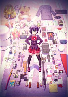 Chuunibyou demo Koi ga Shitai Rikka Case For Samsung Galaxy Anime Love, Kyoani Anime, All Anime, Me Me Me Anime, Anime Naruto, Anime Girls, Koi, Vocaloid, Kyoto Animation