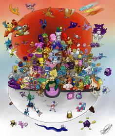 1st Gen Pokemon all 151