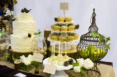 Lovely cream and green wedding ideas