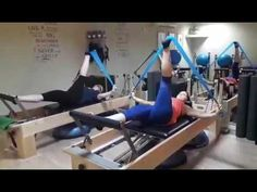 Reformer pilates & band - YouTube