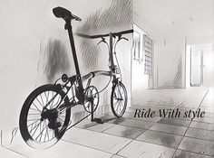 Ride with Style... by Jasper Ong. #Brompton ##bikegang #BIKEgangSG #BromptonSociety #BromptonLife #MyBrompton #BromptonBicycle #myunseencity