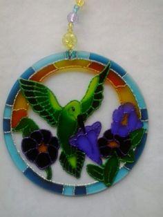 Mandala Beija-flor www.capembas.com.br/catalogo/