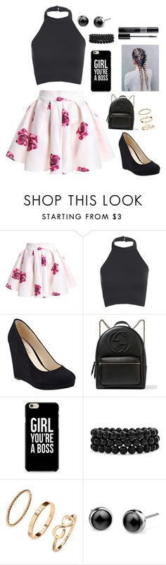 """""""Outfit #171"""" by beg2believe ❤ liked on Polyvore featuring Nine West, Gucci, Bling Jewelry, H&M and Christian Dior"""