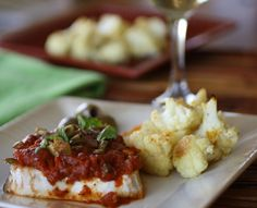 Chef Wolfgang Puck shares his take on tasty, inexpensive and easy-to-make meals. His suggestion lead to Baked Halibut à la Wolfgang Puck. Halibut Recipes, Fish Recipes, Seafood Recipes, Beef Recipes, Healthy Recipes, Fish Dishes, Seafood Dishes, Fish And Seafood, Kitchens