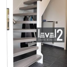 #level2 traprenovatie #open trap #trap bekleden #trap renoveren #traprenovatie Open Trap, Kids Bedroom, Diy Bedroom Decor, Home Decor, Open Stairs, House Stairs, Stairways, Interior Design Living Room, Loft Beds