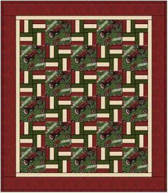 tractor quilts   Tractor Quilt By Patti Linder