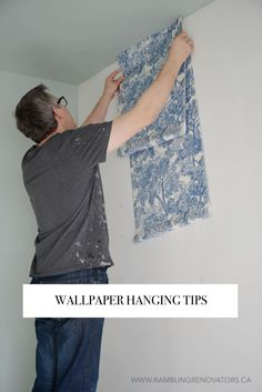 wallpaper installation | ramblingrenovators.ca