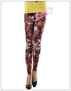 Ladies//Womens Camden Town London printed fashionable print tights