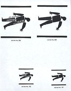 Saul Bass Anatomy of a murder (1959) Teaser ads