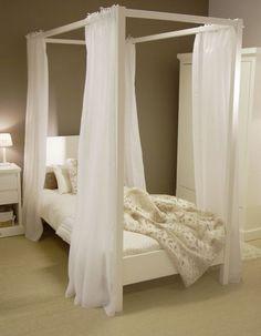 Theophile & Patachou : Junior bed Baldaquin white