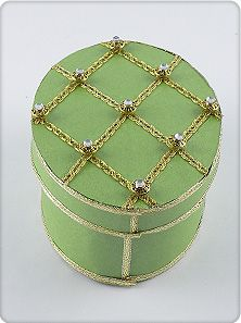 Gift Decorating - Step-by-Step Instructions to Create the Faberge Eggs Design