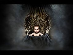 baby on throne - game of thrones - www.hu photo by Krisztina Mate