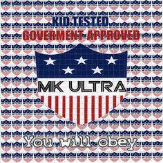 MK Ultra BLOTTER ART perforated acid art paper by ZaneKesey