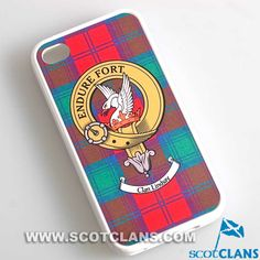 Lindsay Clan Crest iPhone Cover