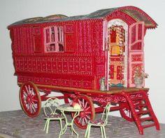 Une roulotte en miniature