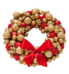 Brushing up on our Christmas bloom-making with just five weeks to go. This Belgian Chocolate Wreath contains over 100 tasty treats for $139.00