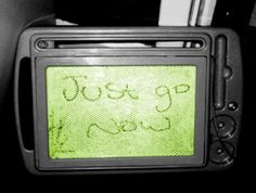 "This is the message left from a poltergeist to the family living in ""his"" house."