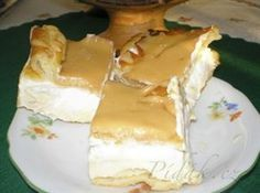 Show details for Recept - Větrník na plech Czech Desserts, Sweet Desserts, Sweet Recipes, Slovak Recipes, Czech Recipes, Baking Recipes, Cake Recipes, Dessert Recipes, No Bake Pies