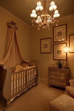 Love this beautifully simple nursery