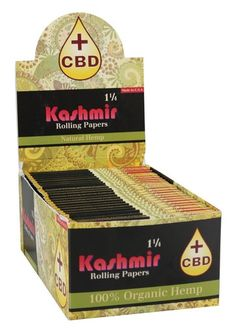 2 Packs AU NATURALLE Kashmir king slim Rolling Papers Two Books of 32 Leaves