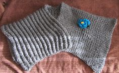 Mañanita en telar rectangular, punto zig-zag y estrella