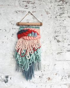"750 Likes, 86 Comments - Kat King Tapestries (@katkingtapestries) on Instagram: ""Too much fringe or not enough?! I think I might have a problem...either way this little guy is…"""