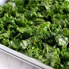 Kale Chips Recipe from Mamma's Gluten Free Recipes