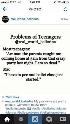 Well, I'm not a teen but it's still true...