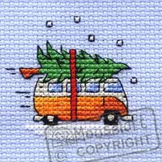 Large Picture of Camper Van Collecting The Tree