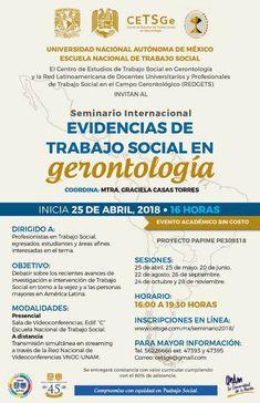 México:Seminario Internacional sobre Trabajo social y Gerontología | Central Informativa del Adulto Mayor