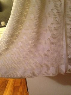 Hearts on the christening dress