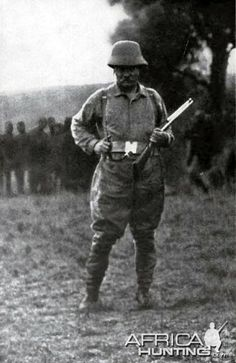 Teddy Roosevelt on Safari in Africa 1910
