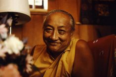 Dilgo Khyentse Rinpoche   Standing in an Open Field