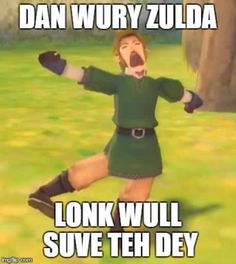 Don't worry Zelda